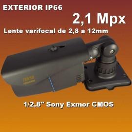 Cámara Bullet exterior IP varifocal de 2,1 Mpx B56IPVAR-IS