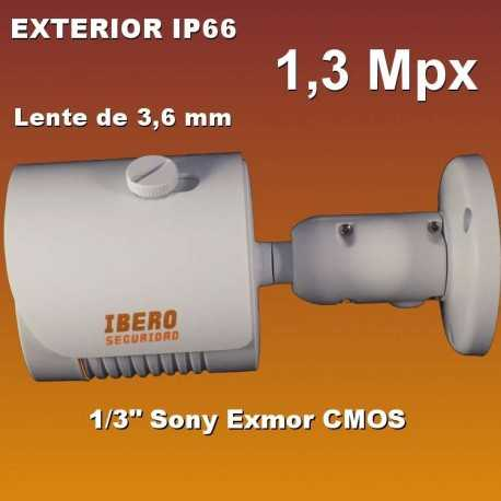 Cámara Bullet exterior IP de 1,3 Mpx B36IP-IS