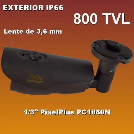 Bullet analógico exterior con leds IR B26AN800-IS