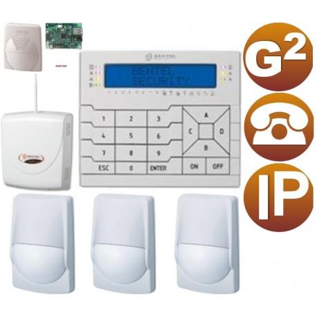 KIT alarma IP PSTN Grado 2 cableado