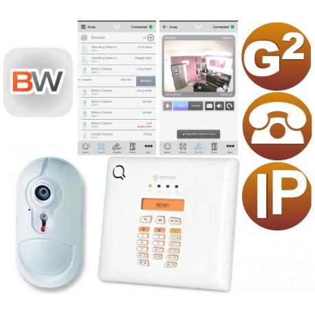 Kit alarma con videoverificación IP PSTN Grado 2