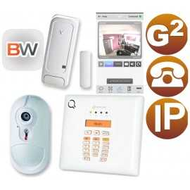 Kit alarma Bentel Wireless para pisos