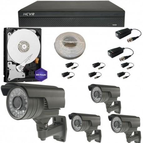 Kit videovigilancia para exterior