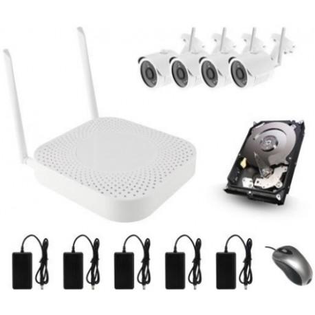 Kit Videovigilancia wifi