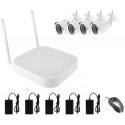 Kit Videovigilancia wifi sin almacenamiento