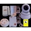 Kit Alarma Internet con videovigilancia plus