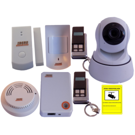 Kit Alarma Internet con videovigilancia plus