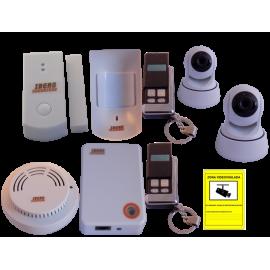 Kit Alarma Internet con videovigilancia plus2
