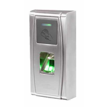 AV-CONTROL-EXT Terminal de control de acceso para EXTERIOR por HUELLA DACTILAR ó TARJETA RFID
