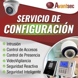 Servicio de configuración Teclado, control remoto y antipánico