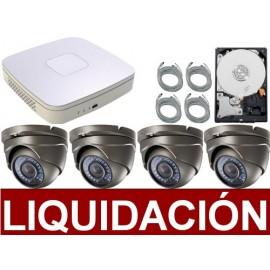 Liquidación videovigilancia