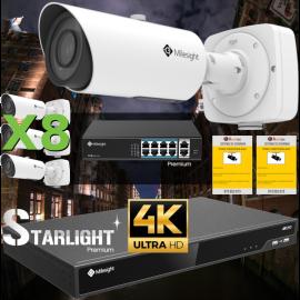 Kit videovigilancia 4K Pro X8