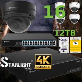 Kit Videovigilancia 4K POE
