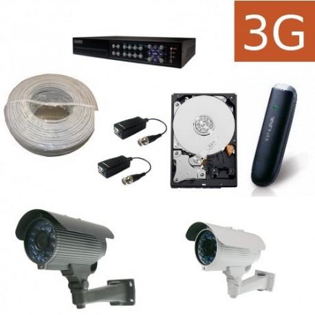 Kit videovigilancia 3G exteriores 2