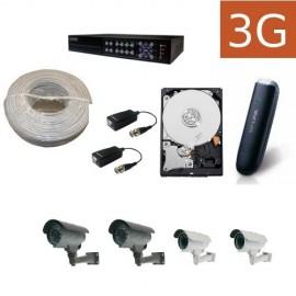 Kit videovigilancia 3G exteriores 4