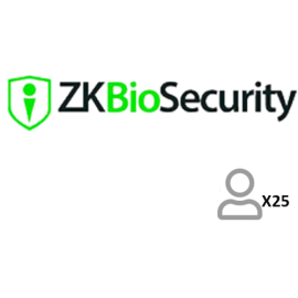 ZKteco Biosecurity Presencia 25