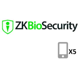 ZKteco Biosecurity APP Mobile 5