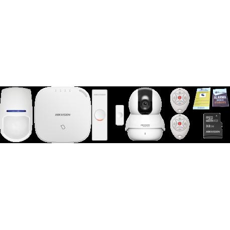 Kit seguridad robotizada wifi