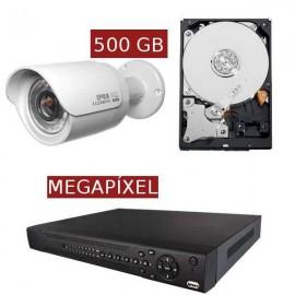 Kit videovigilancia megapíxel KITMEGA1BULL