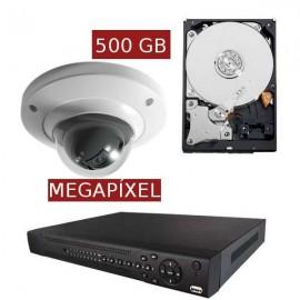 Kit videovigilancia megapíxel KITMEGA1DOM