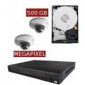 Kit videovigilancia megapíxel KITMEGA2DOM