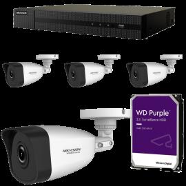 Kit videovigilancia ip megapixel