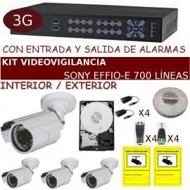 Kit videovigilancia alta calidad completo