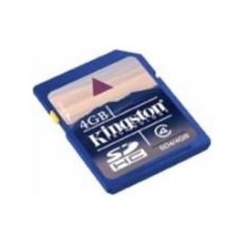 TARJETA MEMORIA SECURE DIGITAL 4GB KINGSTON SD HC