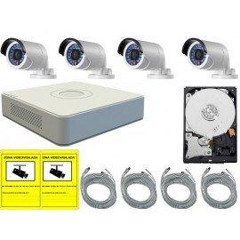 Kit de videovigilancia para exterior o interior REC960HBULL2