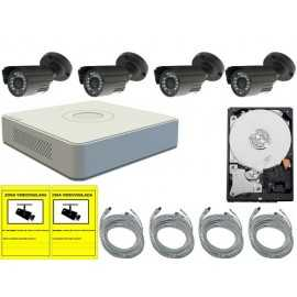 Kit de videovigilancia para exterior o interior REC960HBULL3