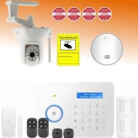 Kit alarma GSM/PSTN y videovigilancia