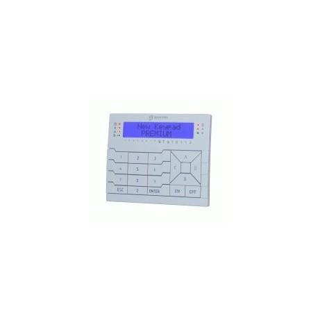 TECLADO PREMIUM BKP-LCD