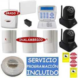 Kit de alarma grado 3 Bentel con cámaras IP