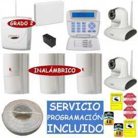 Kit de alarma grado 3 Bentel con cámaras IP megapíxel