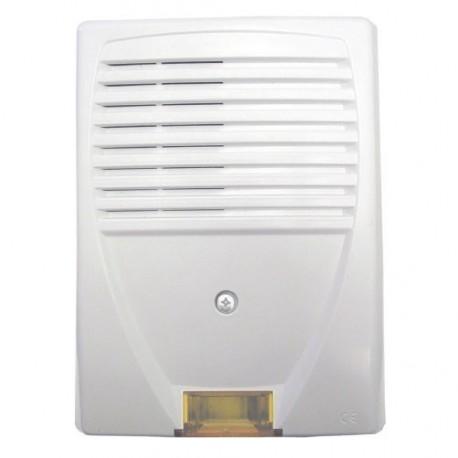 Sirena exterior wLSN con lámpara de destellos Bosch ISW-BSR1-WOX
