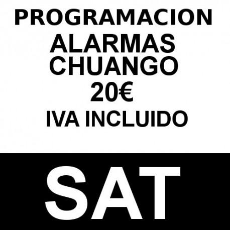 Servicio de programación Chuango