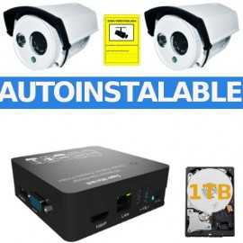 Kit EasyN videovigilancia autoinstalable