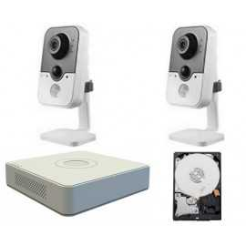 Kit videovigilancia megapixel wifi