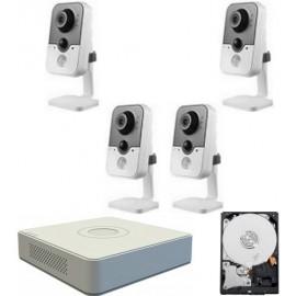 Kit videovigilancia megapixel wifi 4