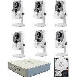 Kit videovigilancia megapixel wifi 6