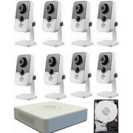 Kit videovigilancia megapixel wifi 8