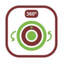 Cámaras IP 360 grados