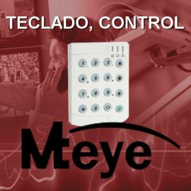 Teclado, control remoto y antipánico