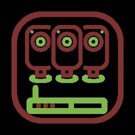 Kits videovigilancia megapíxel
