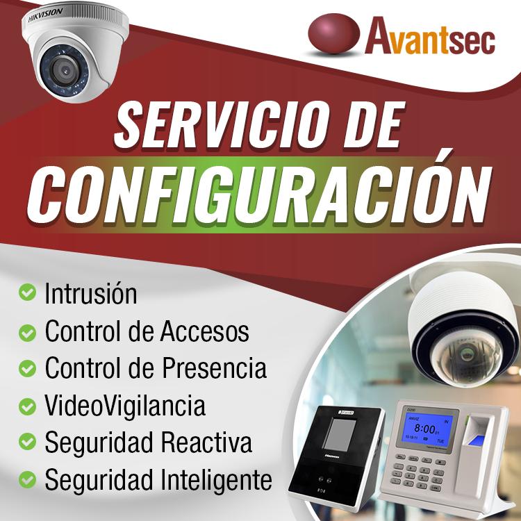 Configuración equipos seguridad
