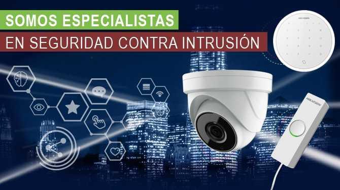 Especialistas en seguridad contra intrusión
