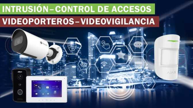 VideoVigilancia - Intrusión - Control de Accesos - Videoporteros